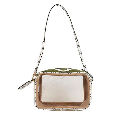 Auth Louis Vuitton MonogramGiant Beachpouch M67610 Women's Pochette,Shoulder Bag