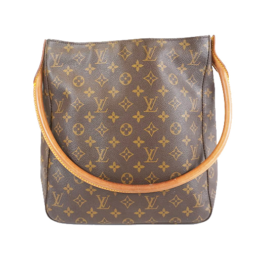 Auth Louis Vuitton Monogram LoopingGM M51145 Women's Shoulder Bag