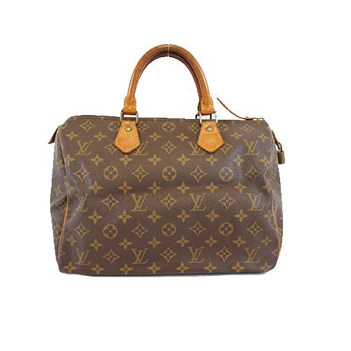 Auth Louis Vuitton Monogram Speedy30 M41108 Women's Boston Bag,Handbag
