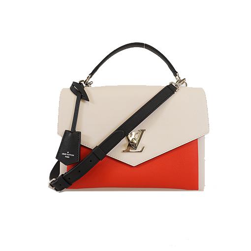 Auth Louis Vuitton 2WAY Bag My Rock Me Quartz / Kabuki / Black M53891 Women's Handbag,Shoulder Bag