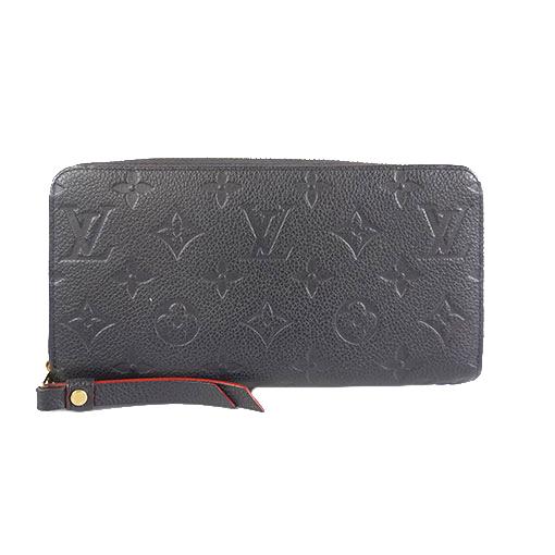 Auth Louis Vuitton Monogram Empreinte Zippy Wallet M62121 Women's  Long Wallet