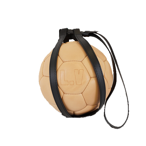 Auth Louis Vuitton Soccer Ball 2018 World Cup Memorial Soccer Ball Nume Leather