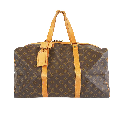 Auth Louis Vuitton Monogram M41624 Men,Women,Unisex Boston Bag