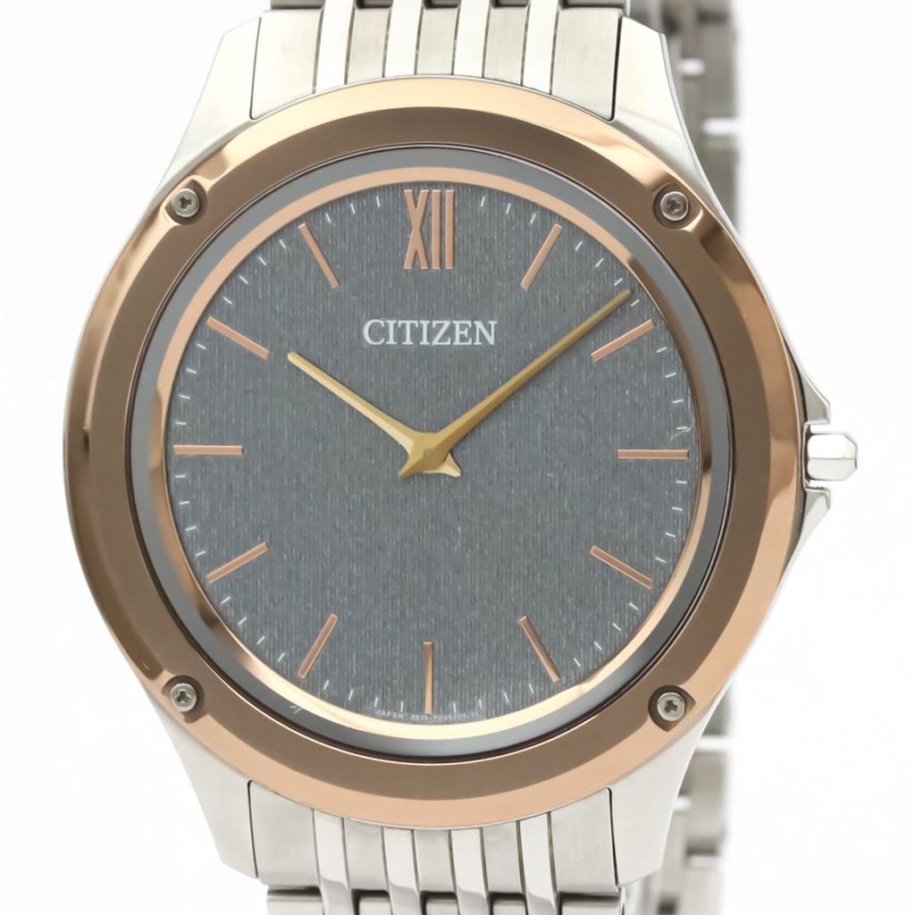 シチズン(Citizen) エコドライブ クォーツ ステンレススチール(SS) メンズ ドレスウォッチ AR5004-59H