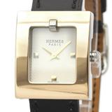 エルメス(Hermes) ベルトウォッチ クォーツ ゴールドプレーティング(GP),ステンレススチール(SS) レディース ドレスウォッチ BE1.120