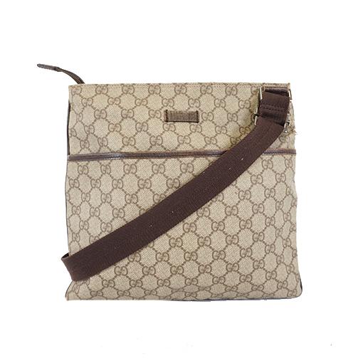 Auth Gucci  Shoulder Bag 141626 Women's GG Supreme Shoulder Bag