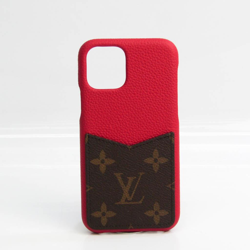 ルイ・ヴィトン(Louis Vuitton) モノグラム IPHONEバンパー 11 PRO M69095 モノグラム バンパー モノグラム,スカーレット