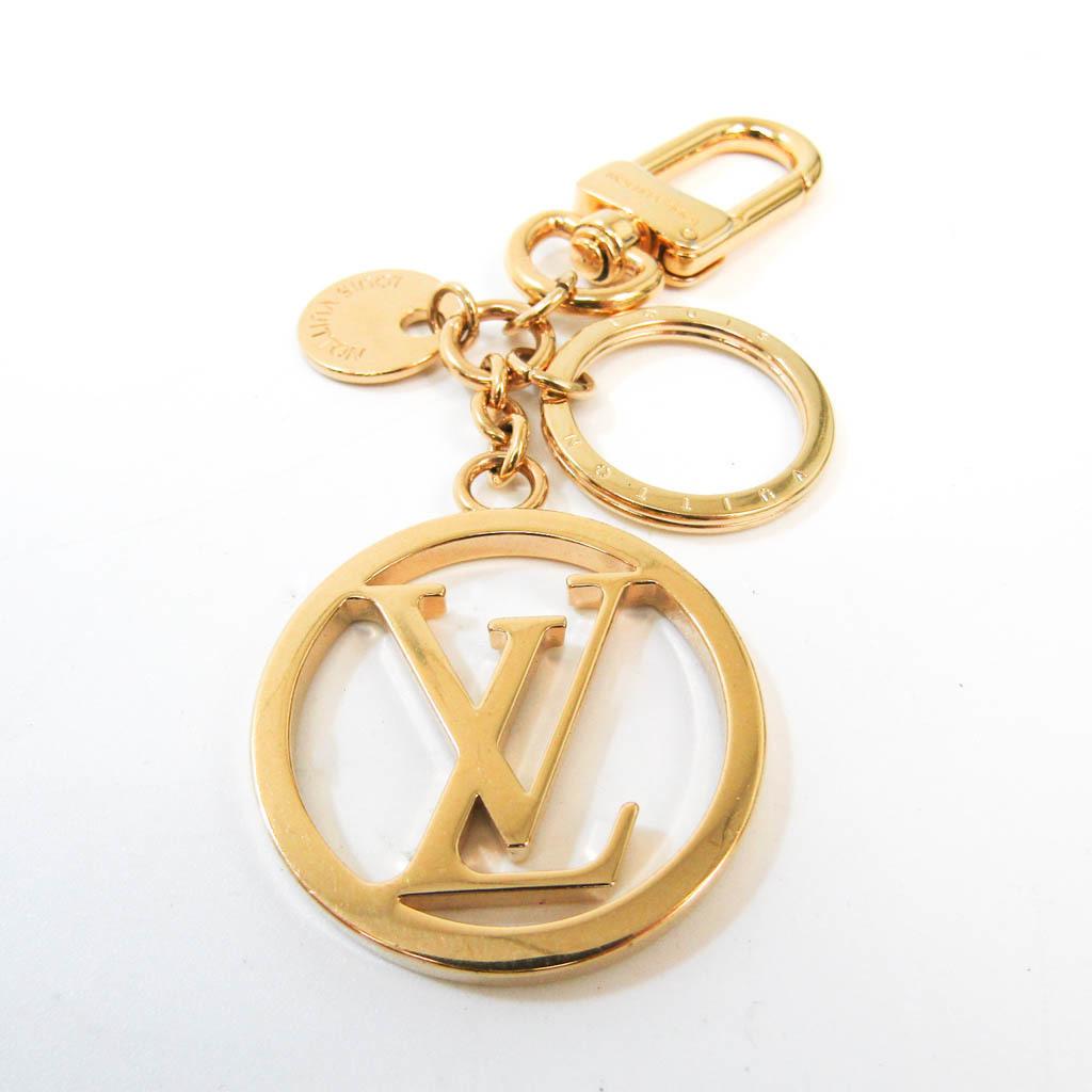 ルイ・ヴィトン(Louis Vuitton) バッグ チャームLV サークル M68000 キーホルダー (ゴールド)