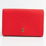 バーバリー(Burberry) レディース レザー 財布(三つ折り) レッド