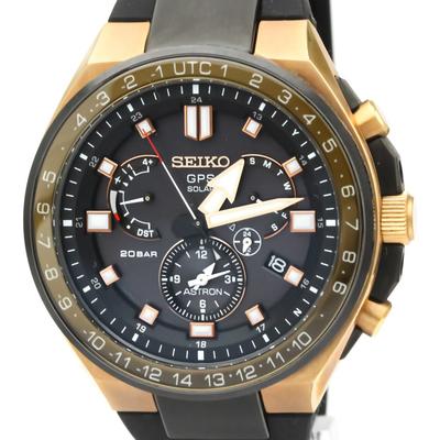 Seiko Astron GPS Solar Ceramic,Titanium Men's Sports Watch SBXB170(8X53-0BB0)