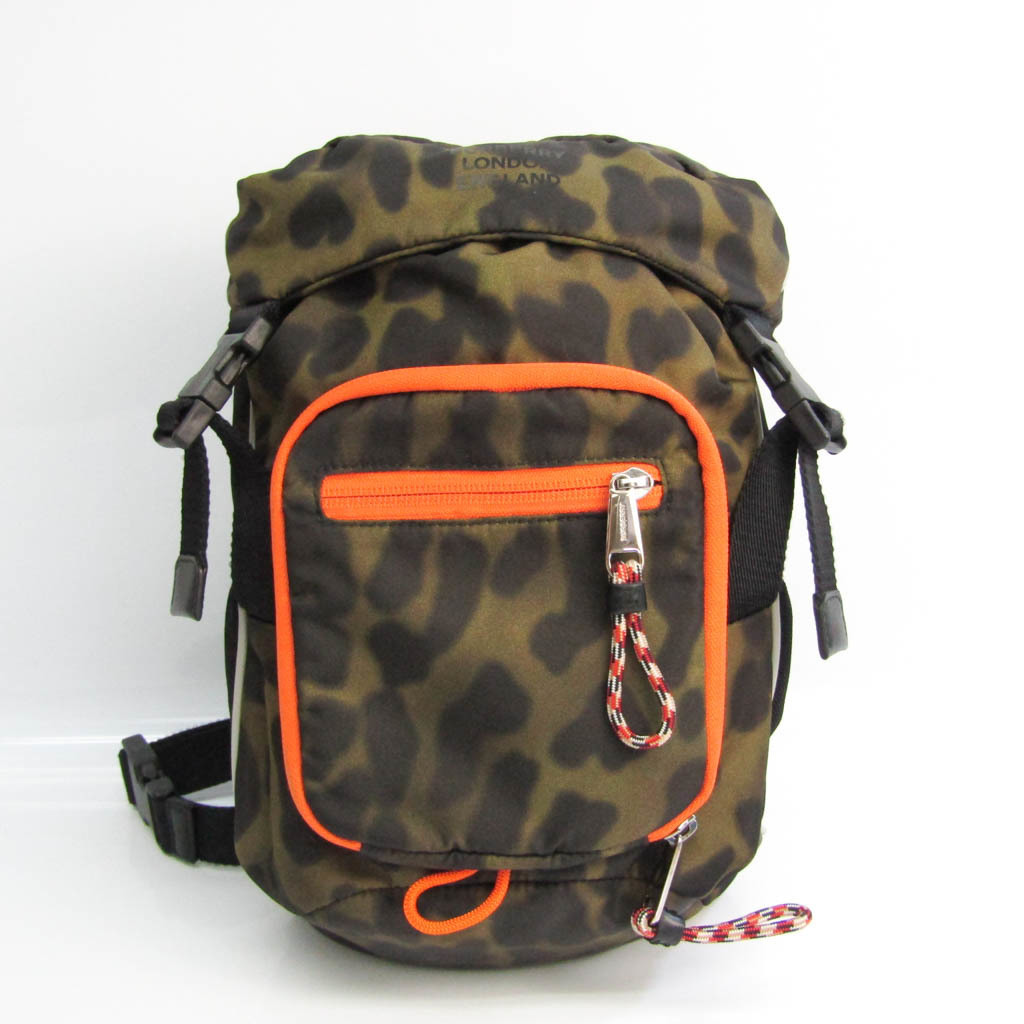 バーバリー(Burberry) Mini Crossbody Animal Print 8013530 ユニセックス ナイロン ボディバッグ ブラック,カーキ,オレンジ