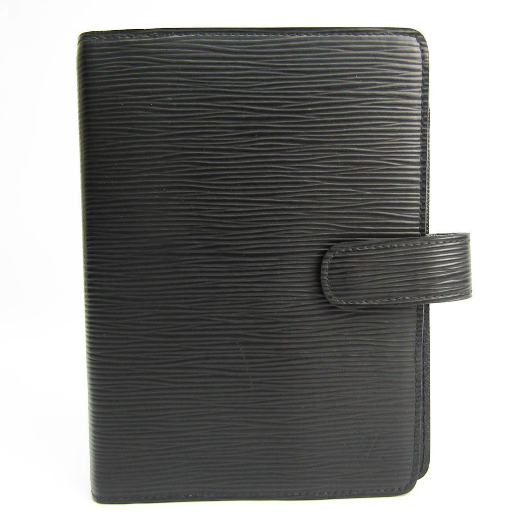 ルイ・ヴィトン(Louis Vuitton) エピ バイブルサイズ 手帳 ノワール アジェンダMM R20202