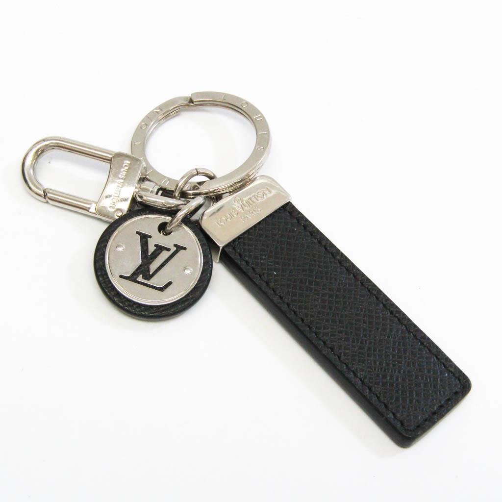 ルイ・ヴィトン(Louis Vuitton) タイガ ポルトクレ ネオ LV クラブ M67242 キーホルダー (ノワール,シルバー)