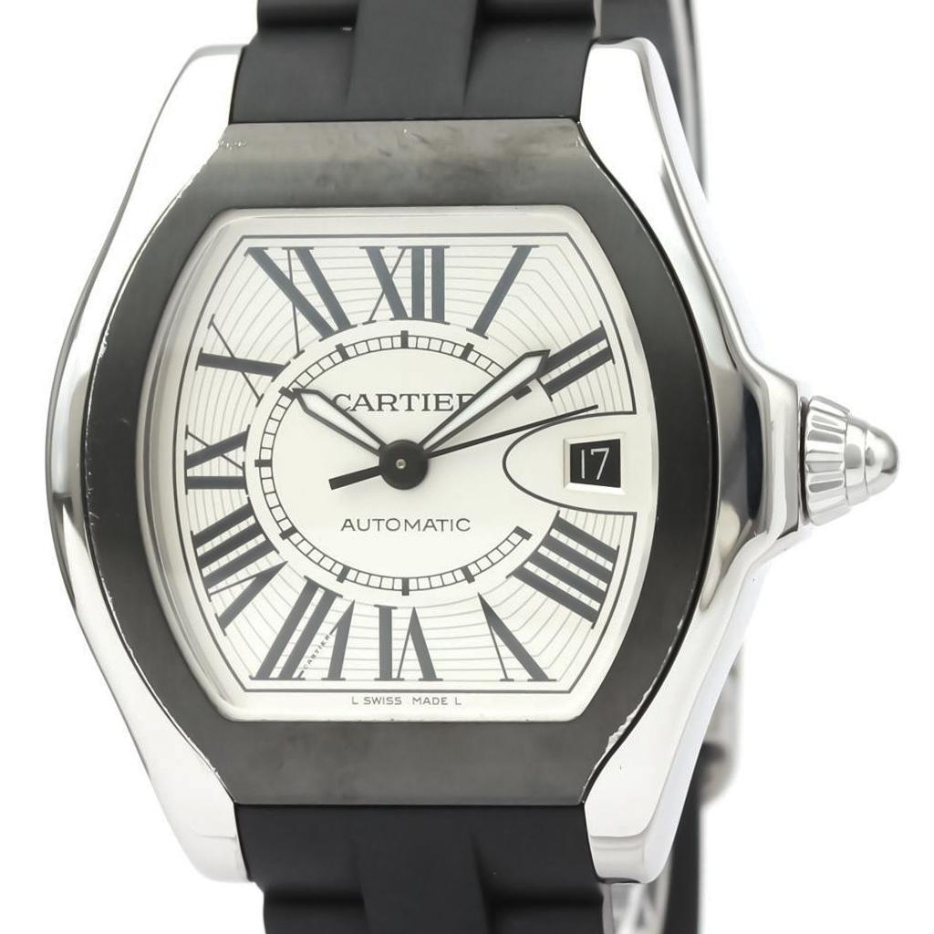 カルティエ(Cartier) ロードスター 自動巻き ステンレススチール(SS) メンズ スポーツウォッチ W6206018
