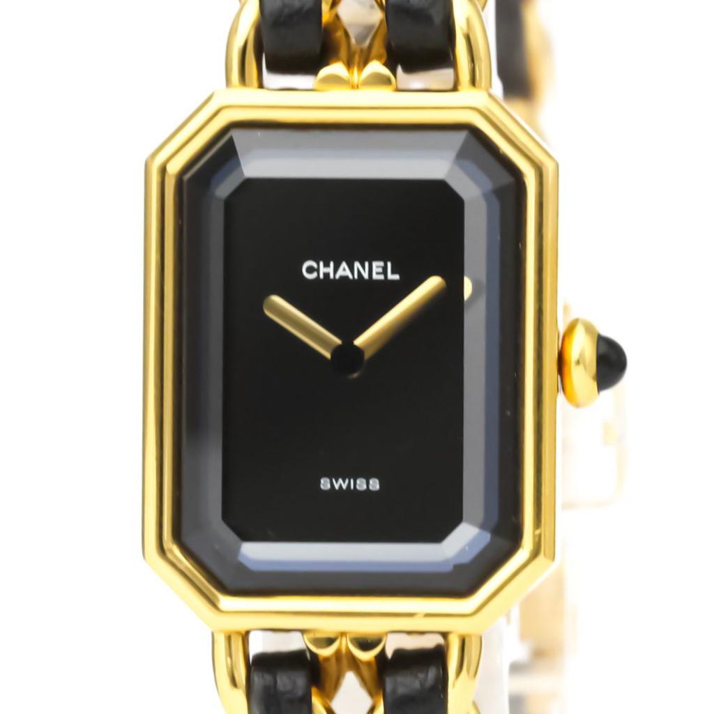 シャネル(Chanel) プルミエール クォーツ ゴールドプレーティング(GP) レディース ドレスウォッチ H0001