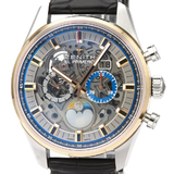 Zenith Chronomaster Automatic Rose Gold (18K),Stainless Steel Men's Sports Watch 51.2530.4047