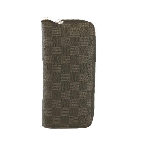 ルイヴィトン 二つ折り長財布 ダミエグラフィット ジッピーウォレットヴェルティカル N63095
