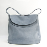 Prada SCAMOSCIATO 1BC014 Women's Suede Shoulder Bag Blue
