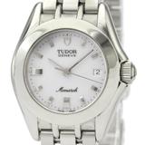 Tudor Monarch Quartz Stainless Steel Women's Dress Watch 15820