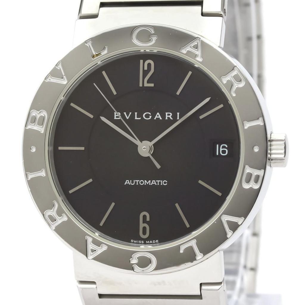 BVLGARI BVLGARI-BVLGARI Steel Automatic Mens Watch BB33SS AUTO