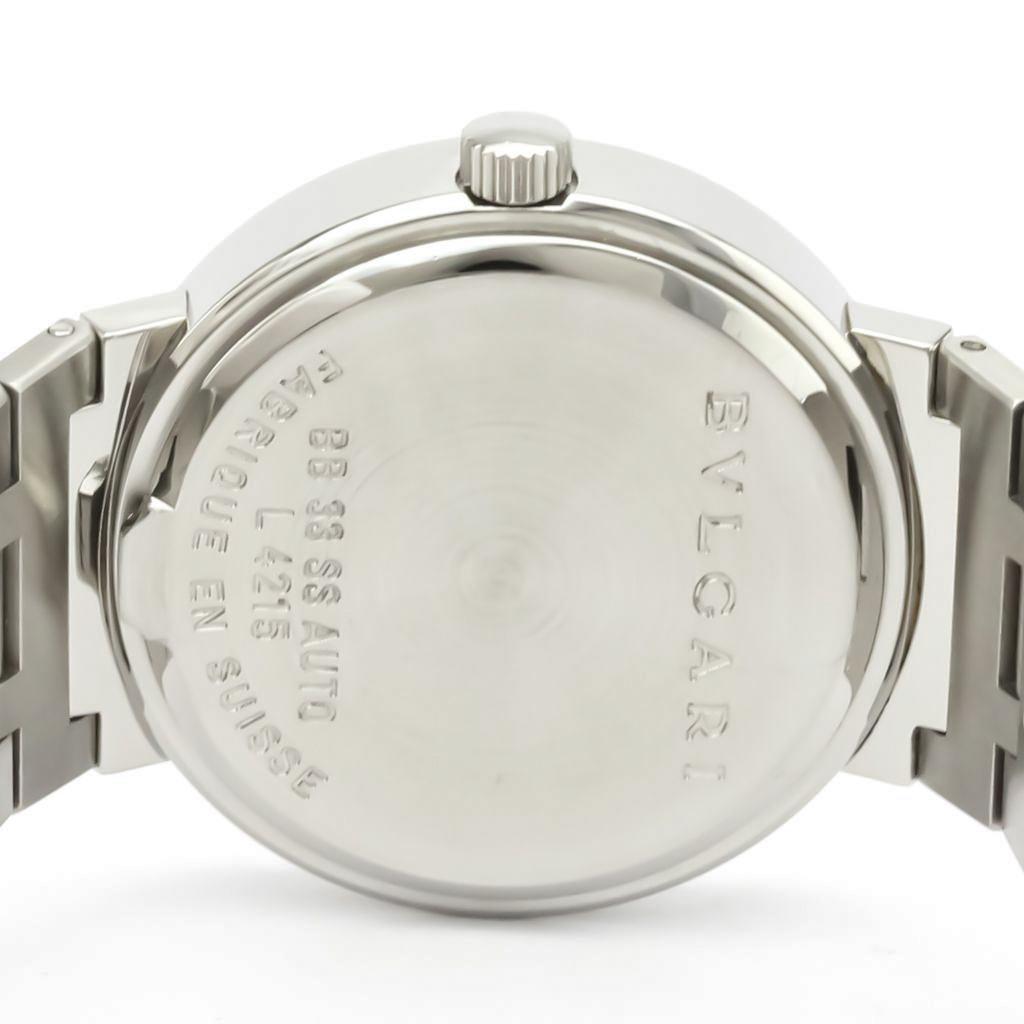 Bvlgari Bvlgari Bvlgari Automatic Stainless Steel Men's Dress Watch BB33SSD AUTO