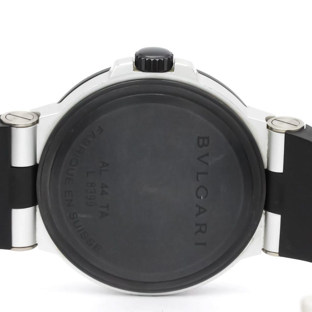 Bvlgari Aluminium Automatic Aluminum Men's Sports Watch AL44TA