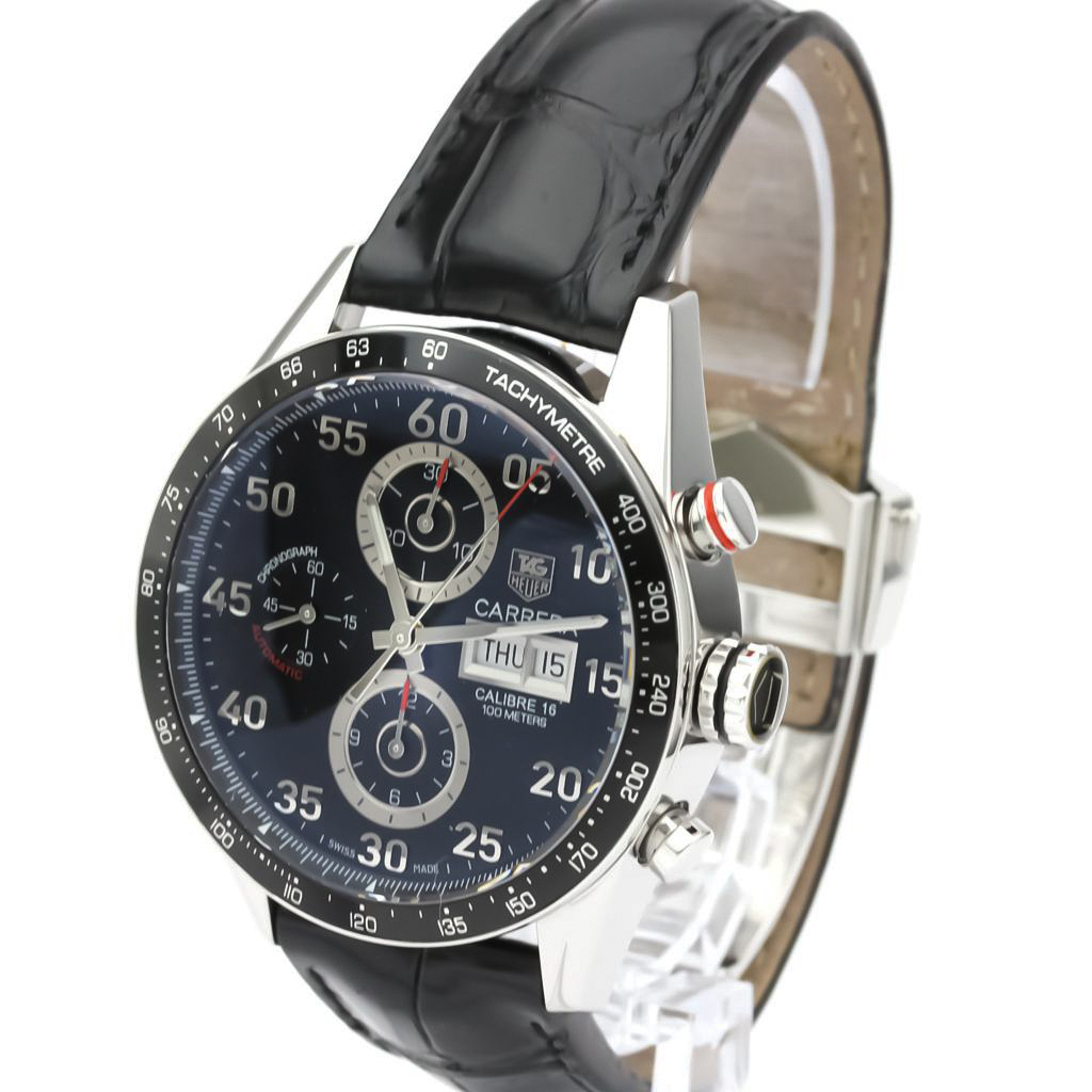 Tag Heuer Carrera Automatic Stainless Steel Men's Sports Watch CV2A10