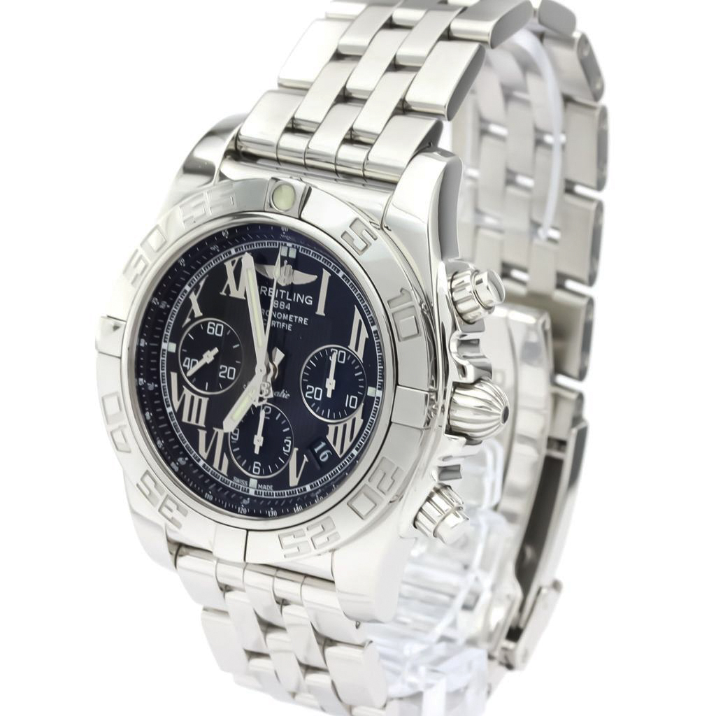 Breitling Chronomat Automatic Stainless Steel Men's Sports Watch AB0110
