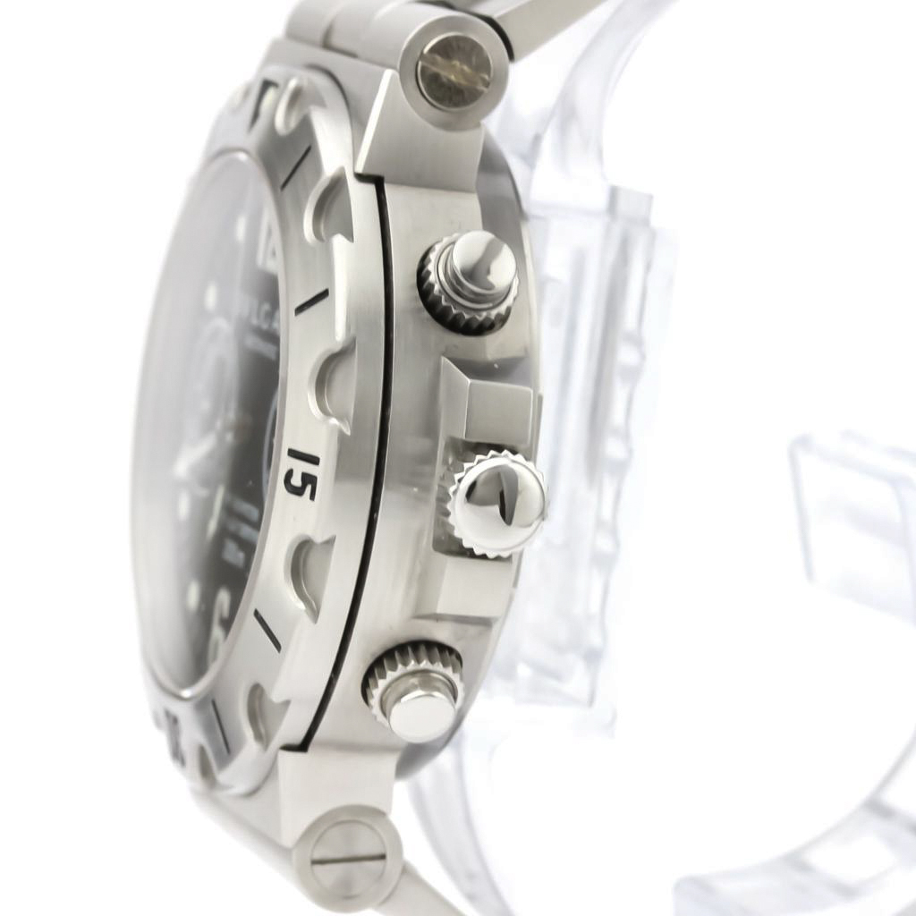 BVLGARI Diagono Scuba Chronograph Steel Automatic Watch SCB38S