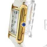 Cartier Must Tank Quartz Gold Plated Women's Dress Watch W1018587