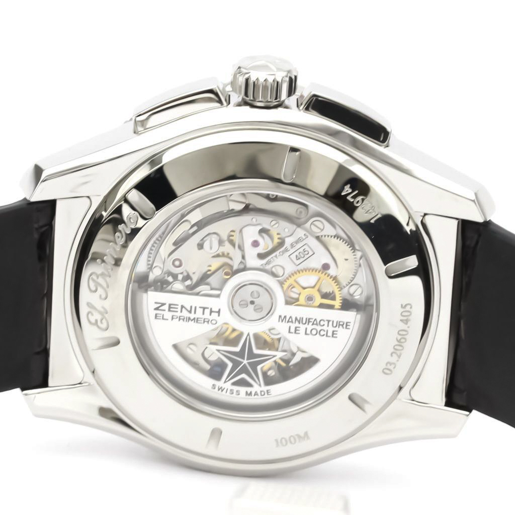 Zenith El Primero Automatic Stainless Steel Men's Sports Watch 03.2060.405