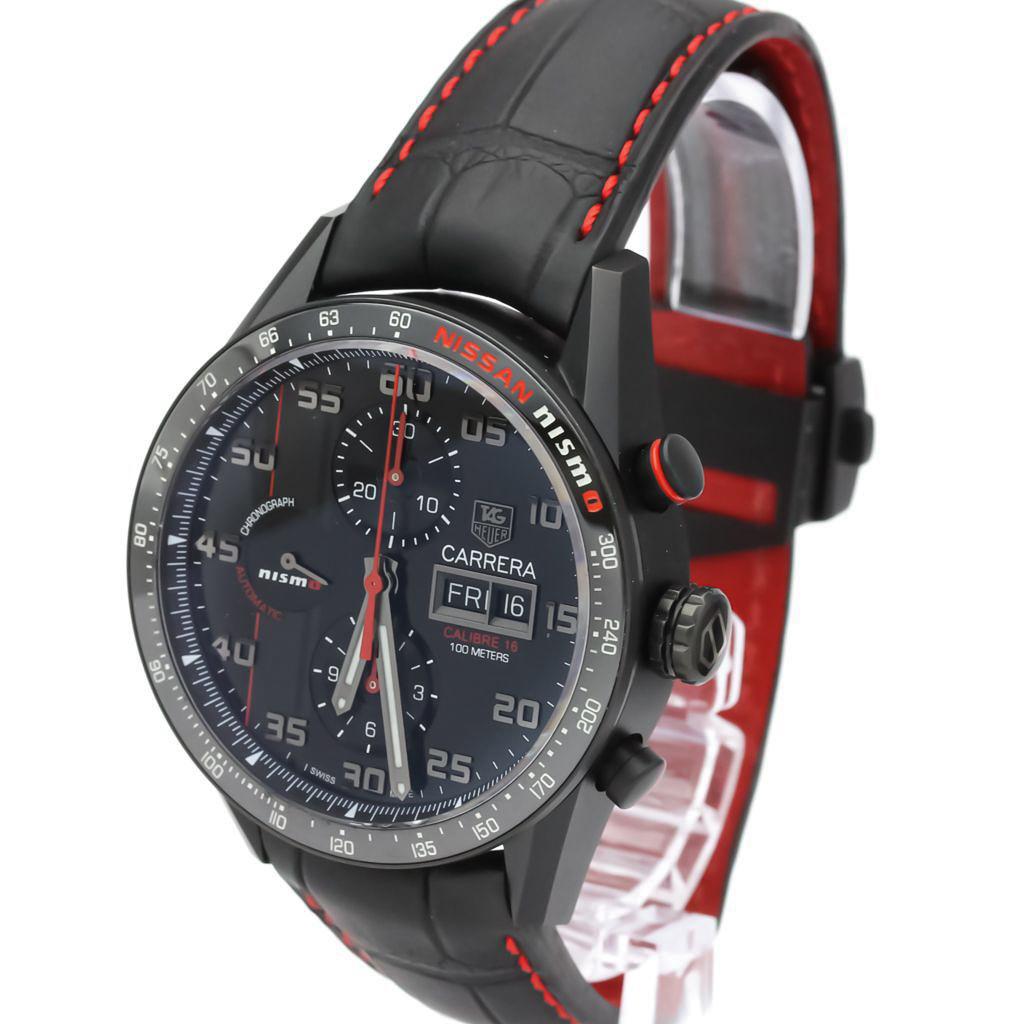Tag Heuer Carrera Automatic Titanium Men's Sports Watch CV2A82