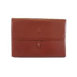 Auth Cartier Must Clutch Bag Men's Leather Clutch Bag Bordeaux