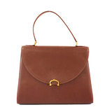 Auth Cartier Must Handbag Women's Leather Handbag Bordeaux