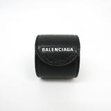 バレンシアガ(Balenciaga) サイクル 483272 レザー バングル ブラック,グレー