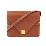 Auth Cartier Must Shoulder Bag Women's Leather Shoulder Bag Bordeaux