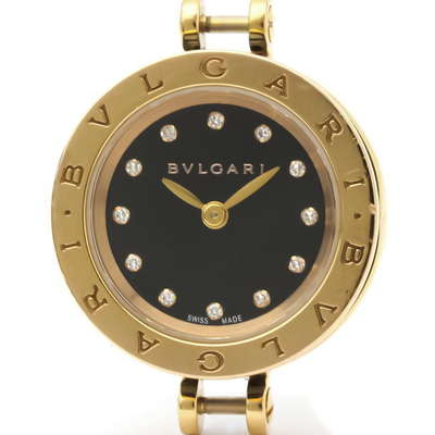 Bvlgari B.zero1 Quartz Ceramic,Pink Gold (18K) Women's Dress Watch BZP23 SG