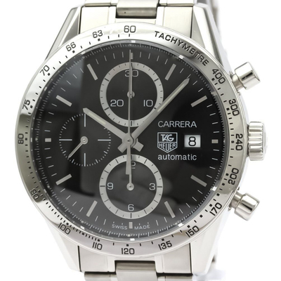 Tag Heuer Carrera Automatic Stainless Steel Men's Sports Watch CV2016