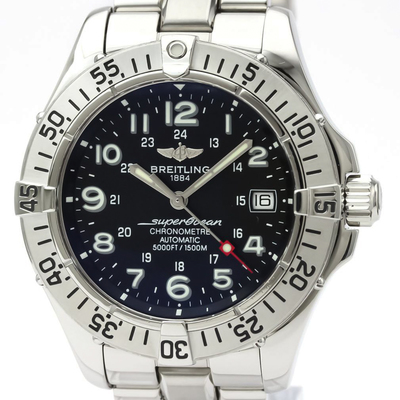 BREITLING Super Ocean Steel Automatic Mens Watch A17360