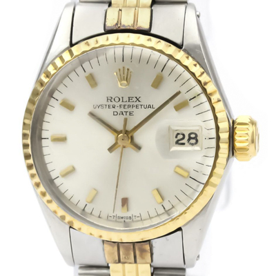 Rolex Automatic Stainless Steel,Yellow Gold Women's Dress Watch 6517