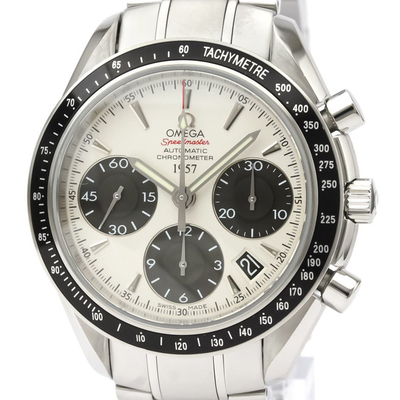 Omega Speedmaster Automatic Stainless Steel Men's Sports Watch 323.30.40.40.02.001