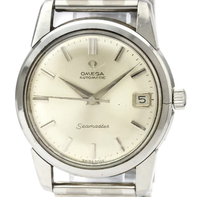 Omega Seamaster Automatic Stainless Steel Men's Dress Watch 166.009
