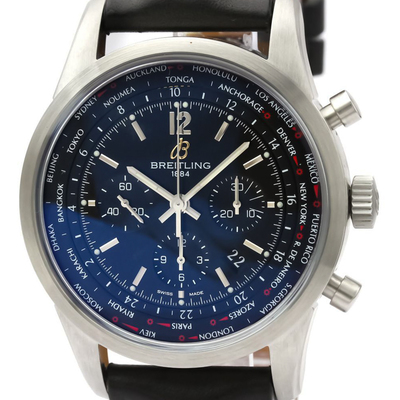 Breitling Transocean Automatic Stainless Steel Men's Sports Watch AB0510