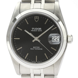 Tudor Prince Oyster Date Automatic Stainless Steel Men's Dress Watch 74000N