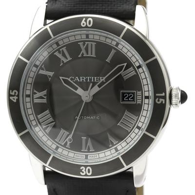Cartier Ronde Croisiere De Cartier Automatic Stainless Steel Sports Watch WSRN0003