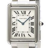 カルティエ(Cartier) タンクソロ クォーツ ステンレススチール(SS) メンズ ドレスウォッチ W5200014