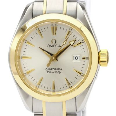Omega Seamaster Quartz Stainless Steel,Yellow Gold (18K) Women's Sports Watch 2377.30