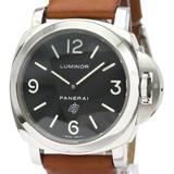 PANERAI Luminor Base Logo Steel Hand-Winding Watch PAM00000