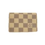 ルイヴィトン カードケース ダミエアズール アンヴェロップカルトドゥヴィジット N61746pe Cartes De Visite N61746 ダミエアズール カードケース ダミエ・アズール,ホワイト