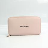 バレンシアガ(Balenciaga) 594290 レディース レザー 長財布(二つ折り) ライトピンク